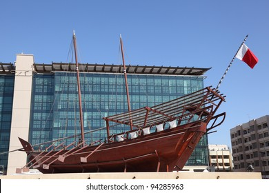 Traditional Arabic Dhow at the Dubai Museum