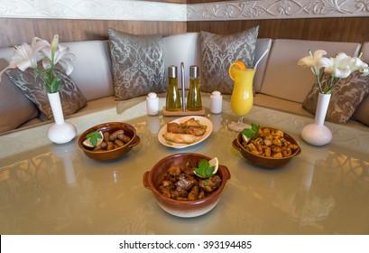 Traditional Arabic Food