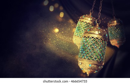 Traditional arabic lantern