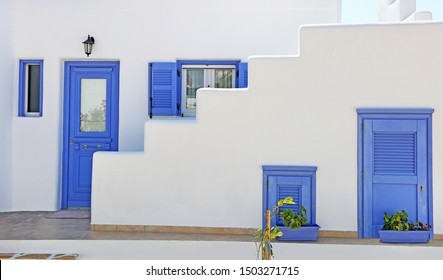 traditional architecture of Cyclades islands - Ano Koufonisi island Greece
