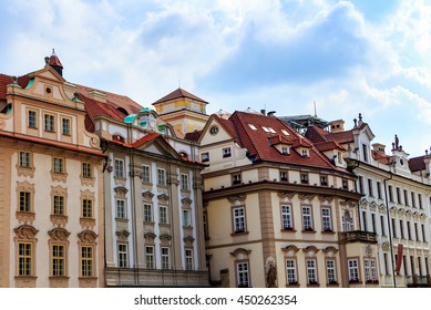 Traditional architecture in Old Town square, Prague, Czech Republic