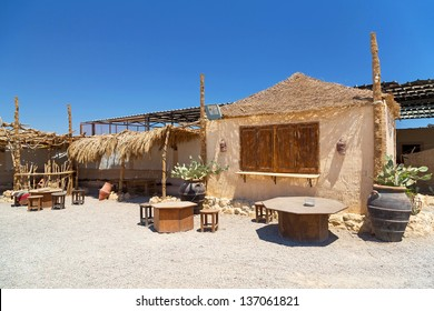 Traditional  architecture on the desert, Egypt