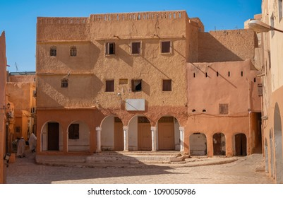 Traditional architecture in town Ghardaia, Algeria