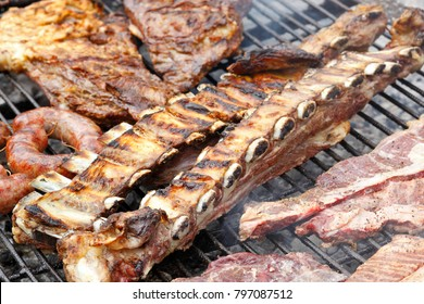 Traditional Argentine grill