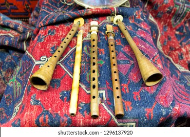 Traditional Armenian hand-made musical instrument Duduk