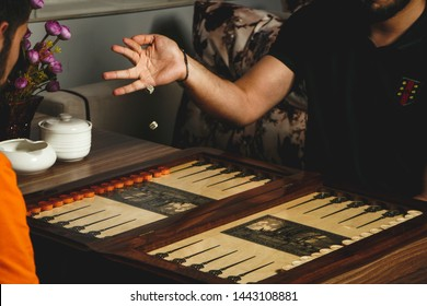 Traditional Asian game - Backgammon