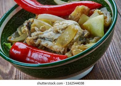 Traditional Assamese Chicken By Gitika - Assamese Chicken Curry