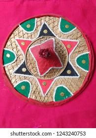 Traditional Assamese Japi (Hat)