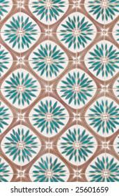 Traditional azulejos