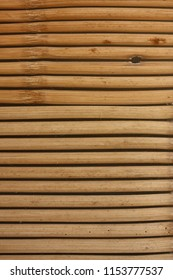 Traditional Bamboo blinds.