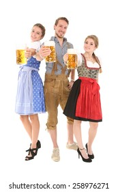 Traditional bavarian group
