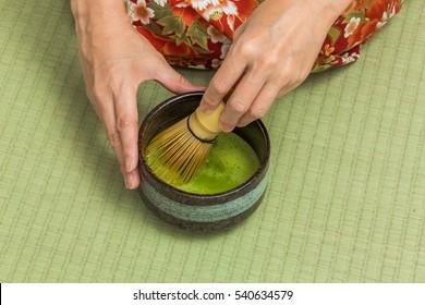 traditional beauty of tea Japan of the tea ceremony