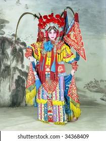 traditional Beijing opera actress