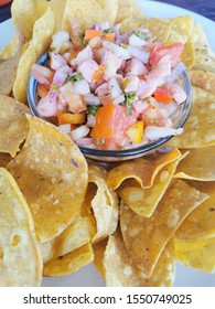 traditional Belize sea food saviche