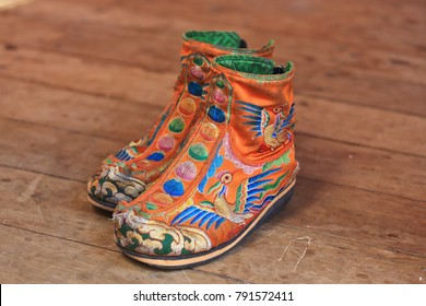 Traditional Bhutanese footwear