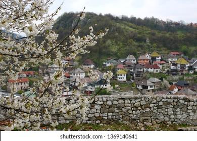 Traditional bosnian houses Travnik 14.04.2019