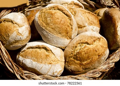traditional bread from Mediterranean spain cereal food