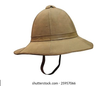 A Traditional British Army Pith Helmet.