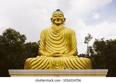 Traditional Buddha statue in Nepal