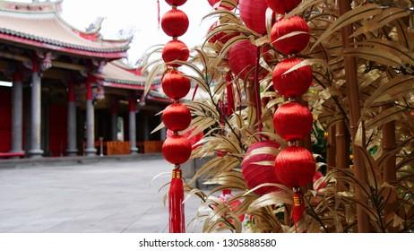 Traditional Buddhist Temple in Taipei, Taiwan - Taipei Xing Tian Gong Bei Tou Fen Gong