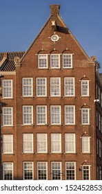 Traditional building in Amsterdam