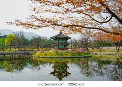 Traditional building in Korea