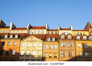 Traditional building in Old Town Warsaw