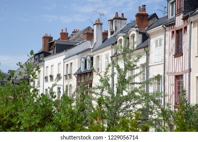 Traditional buildings in Orleans, France