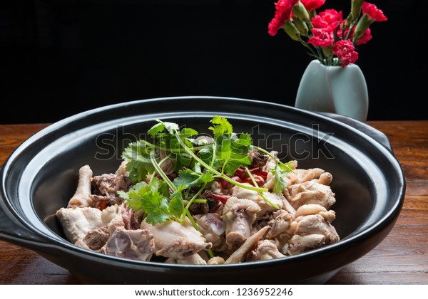 Traditional casserole oyster chicken