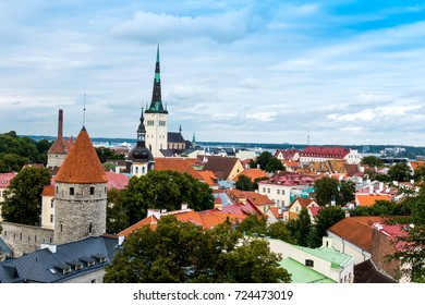 Traditional Cathedral building in Tallinn, Estonia
