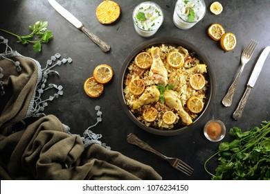Traditional Chicken Biryani