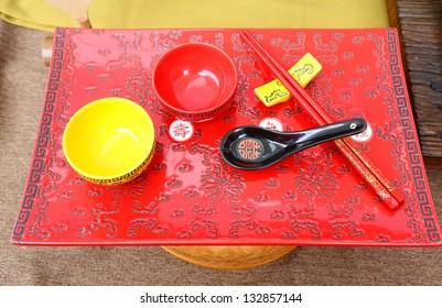Traditional chinese Chopsticks set