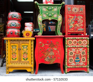 traditional Chinese furniture shop