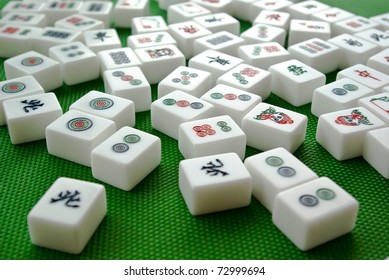 Traditional Chinese game - Mahjong