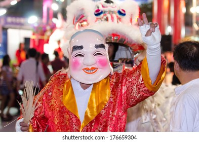 A traditional Chinese mask