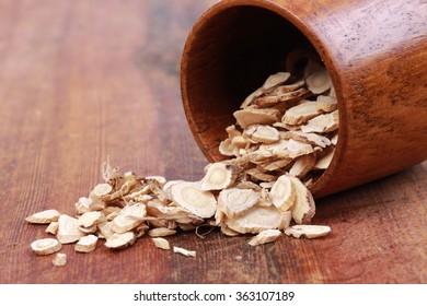 Traditional Chinese medicine, astragalus membranaceus