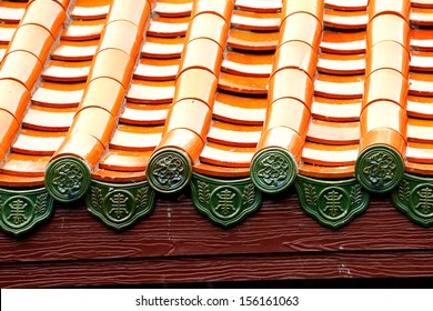 Traditional Chinese style roof