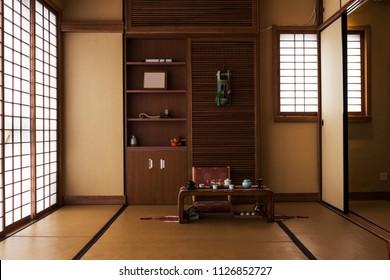 Japanese Tea House Images Stock Photos Vectors Shutterstock
