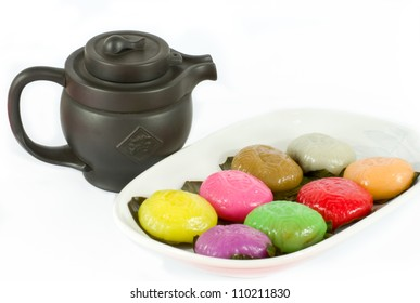 Traditional chinese Tortoise cakes from South East Asia