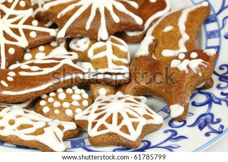 Polish Christmas Cookies House Cookies