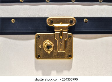 Traditional Clasp and Latch Luggage Lock