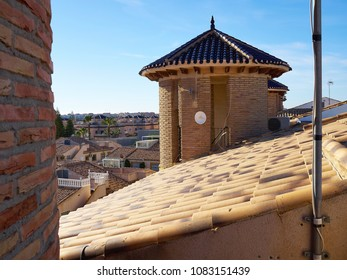 Traditional classical local Spanish style house condominium home real estate Spain