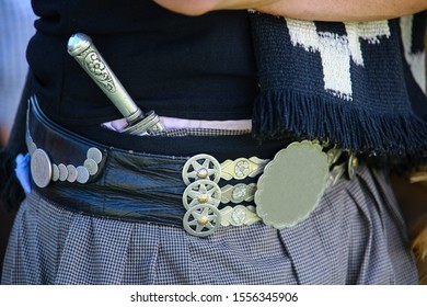 Traditional clothes of an Argentine gaucho