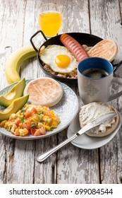 traditional colombian breakfast