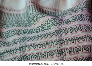 Traditional costumes woven with cotton  / Thailand folk textiles