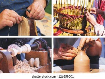 traditional crafts - collage