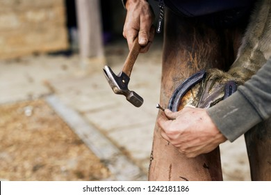 Traditional Craftsmen - Farrier at work