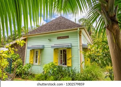 Traditional creole house, La Réunion