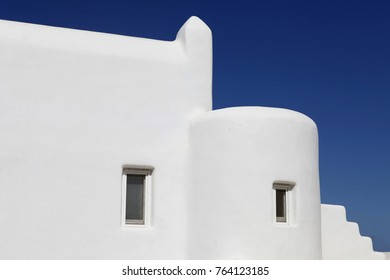 Traditional cyclades white house