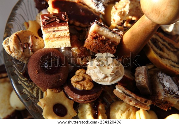 Traditional Czech Christmas Cookies Stock Photo Edit Now 234120496